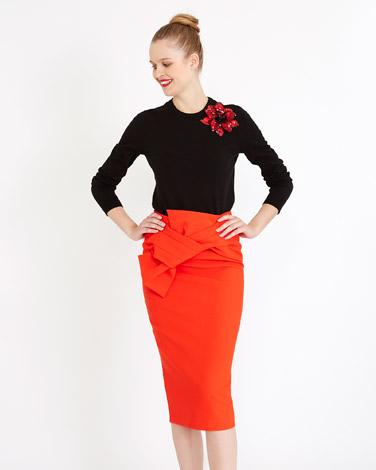 redSavida Angel Twist Waist Skirt
