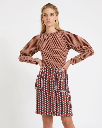 Savida Tweed Skirt