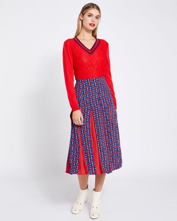 Savida Ines Print Skirt