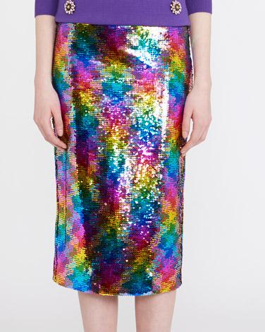 multiSavida Multi Sequin Skirt