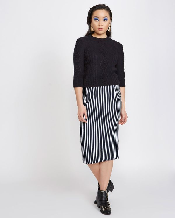 Savida Stripe Skirt