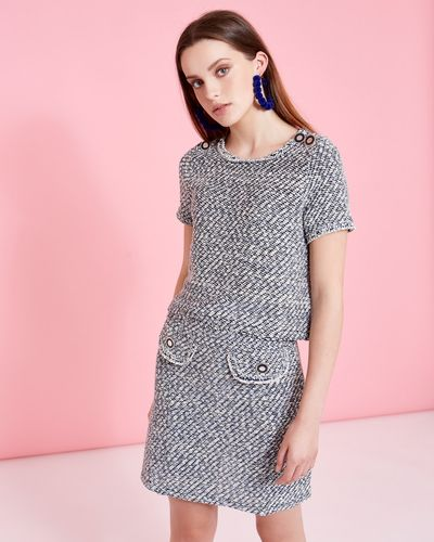 Savida Tweed Co-Ord Skirt