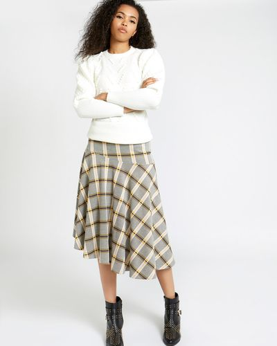 Savida Checked Skirt thumbnail