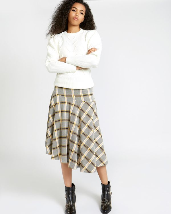Savida Checked Skirt