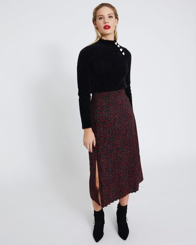 Savida Pleat Front Skirt
