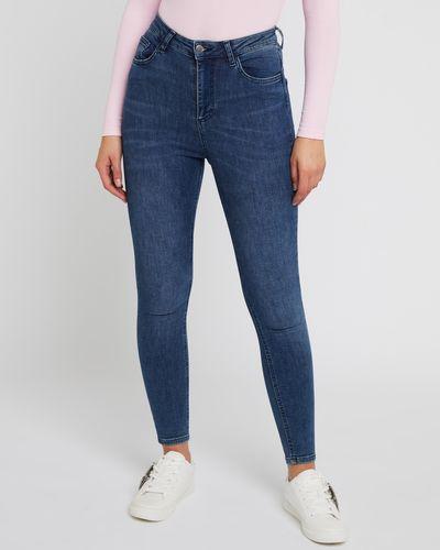 Savida High Waisted Denim Jeans thumbnail