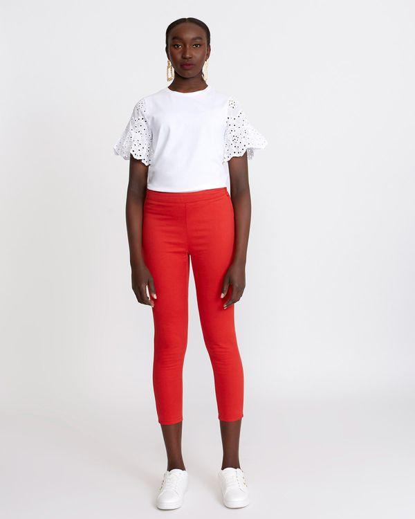 Savida Cropped Denim Jeans