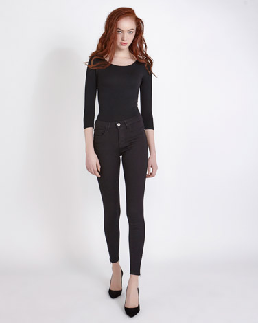 blackSavida Anna Ankle Grazer Jeans