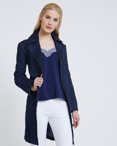 Savida Denim Trench