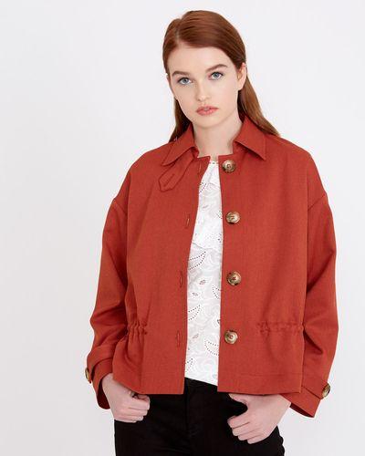 Savida Button Short Jacket