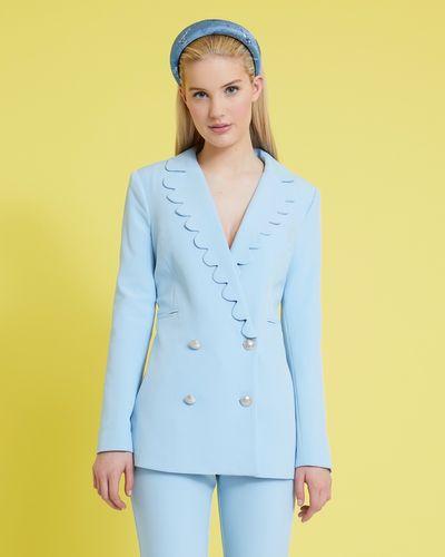 Savida Scallop Blazer With Buttons