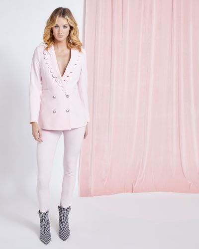 Savida Scallop Blazer With Buttons thumbnail