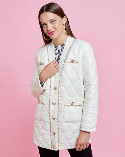 Savida Knit Trim Padded Jacket