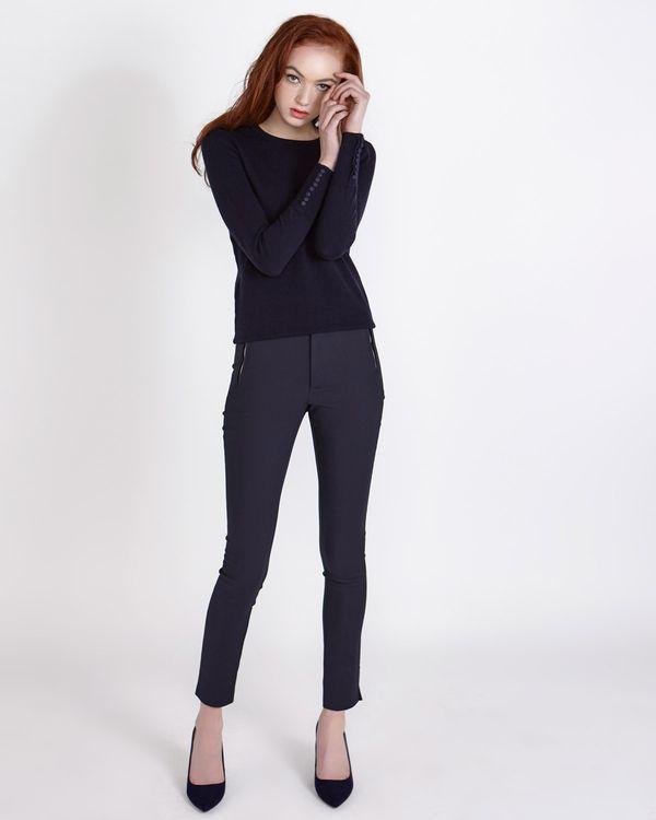 Savida Zip Front Trousers