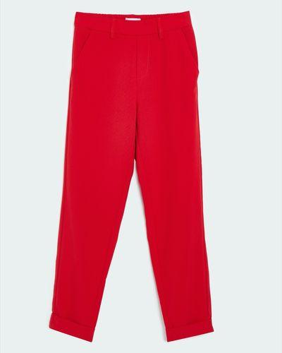 Savida Elastic Waist Trousers