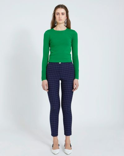 Savida Check Trousers