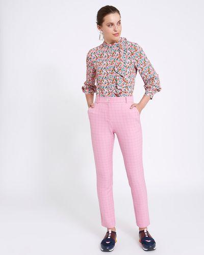 Savida Pink Check Trousers