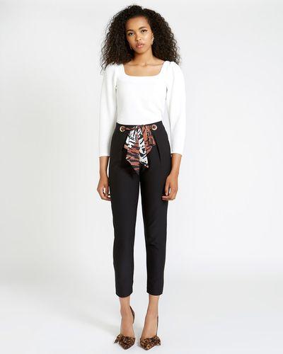 Savida Tie Front Trousers