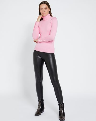 Savida Faux Leather Trousers