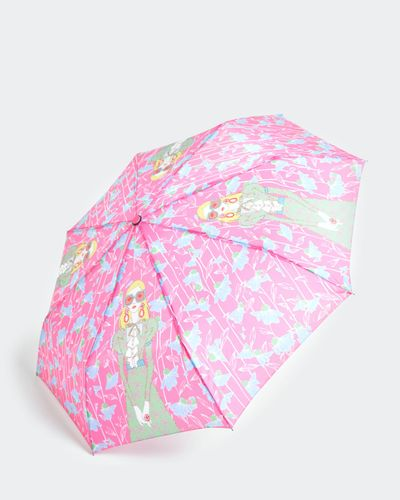Savida Printed Neon Umbrella