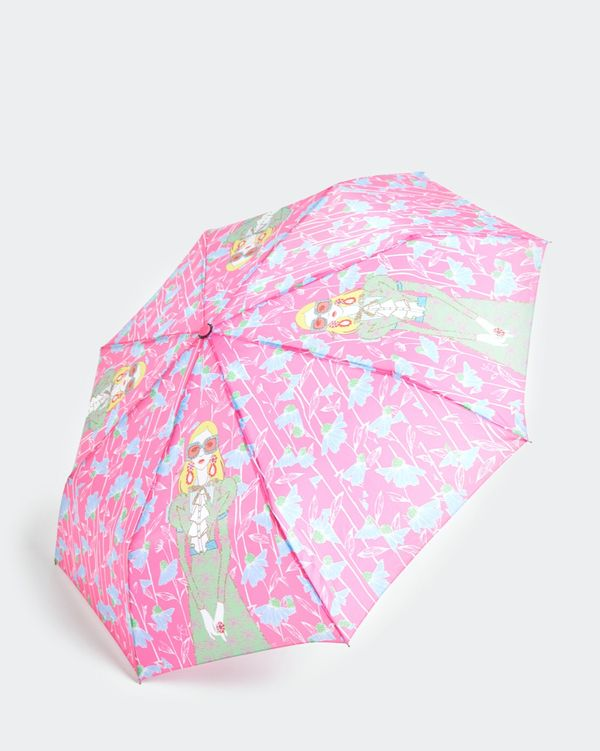 Savida Printed Neon Umbrella