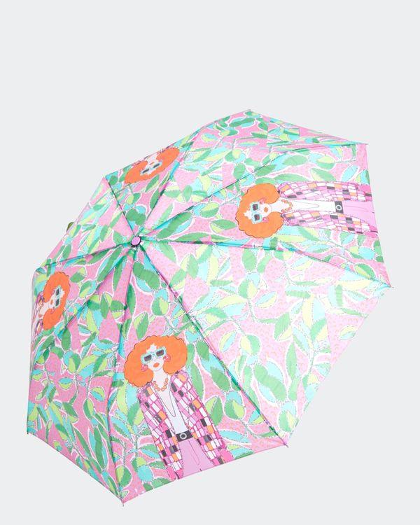 Savida Graphic Print Umbrella
