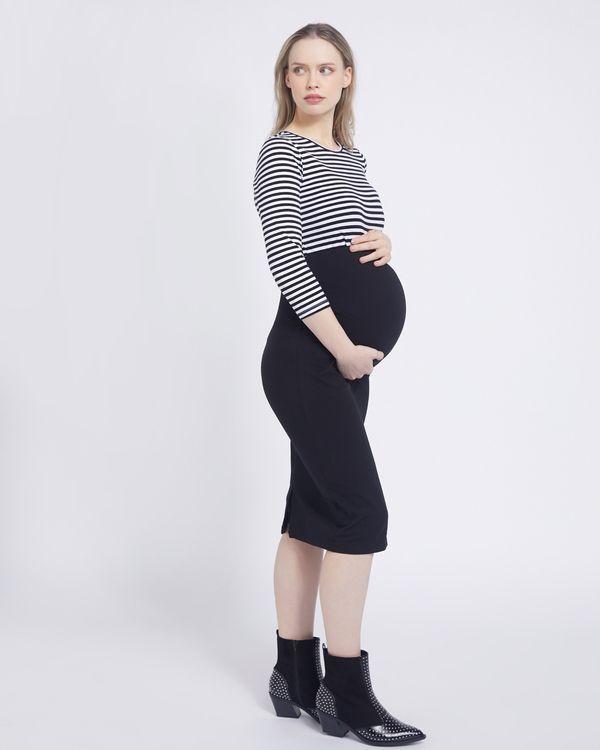Savida Maternity Laura Jersey Skirt