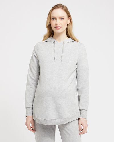 Savida Side Zip Maternity Hoodie
