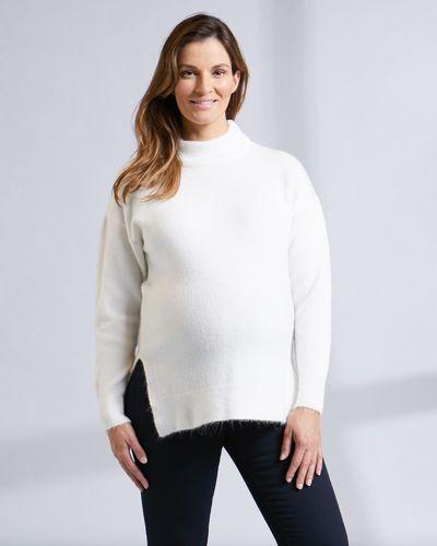 Savida Chunky Knit Maternity Jumper