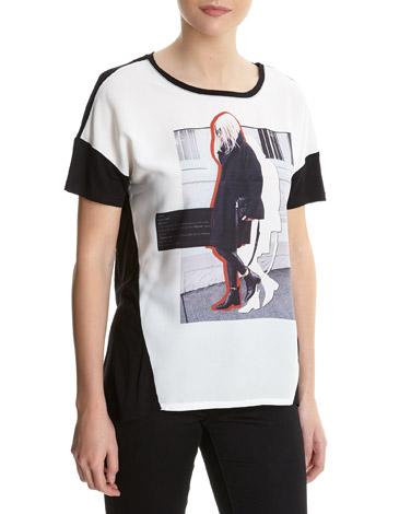 redGirl Print T-Shirt