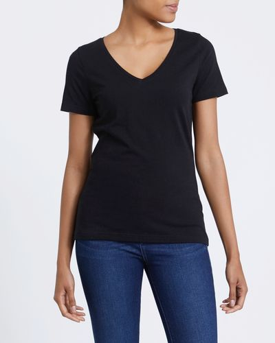 Stretch V-Neck T-Shirt thumbnail