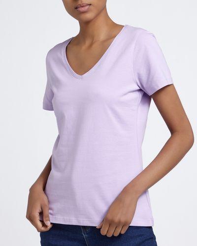 Stretch V-Neck T-Shirt thumbnail