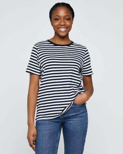 Stripe Boxy T-Shirt