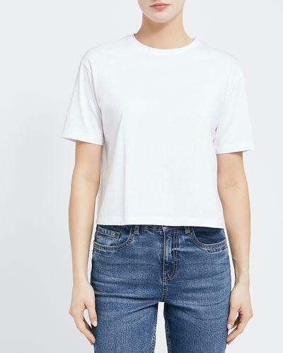 Cotton Cropped T-Shirt thumbnail