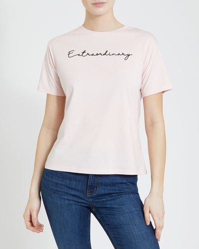 Graphic Front Print T-Shirt