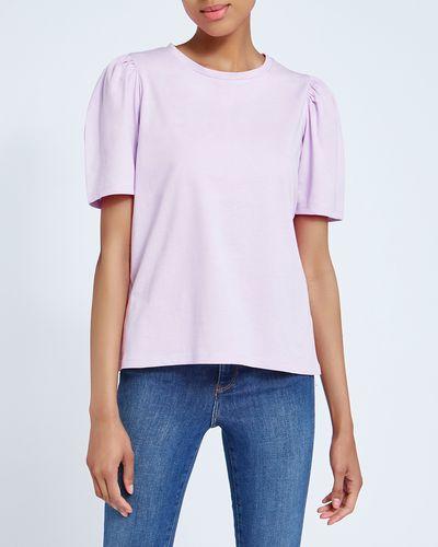 Puff Sleeve Cotton T-Shirt thumbnail
