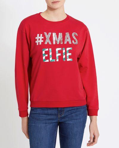 Christmas Selfie Sweatshirt