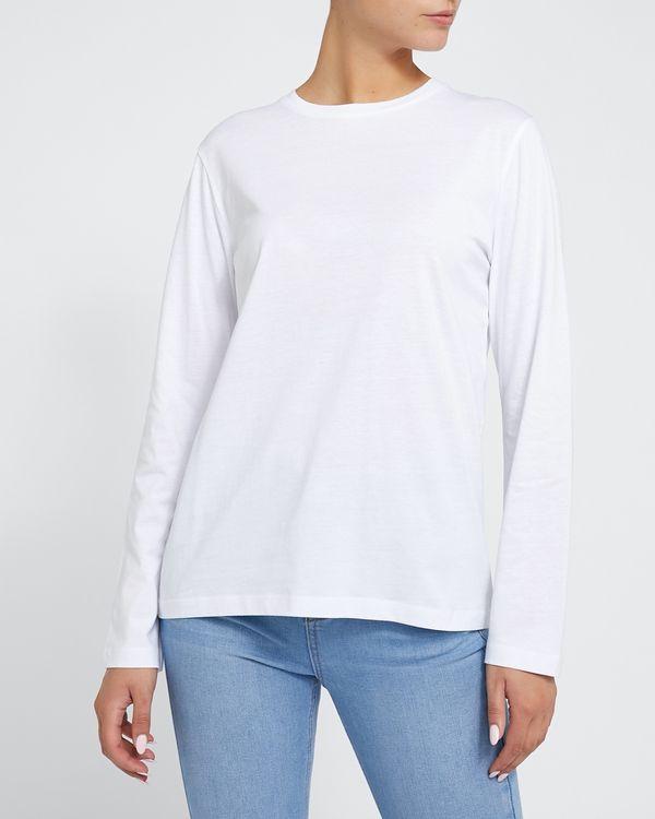 Long-Sleeved Cotton T-Shirt