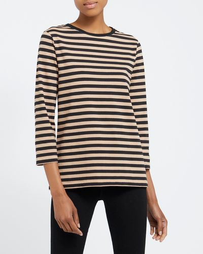 Stripe Stretch Long Sleeve