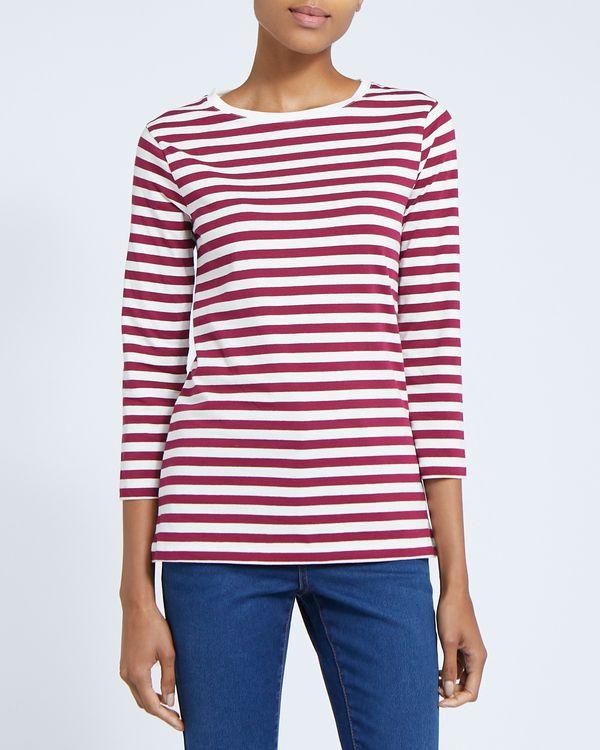Stripe Stretch Long Sleeve