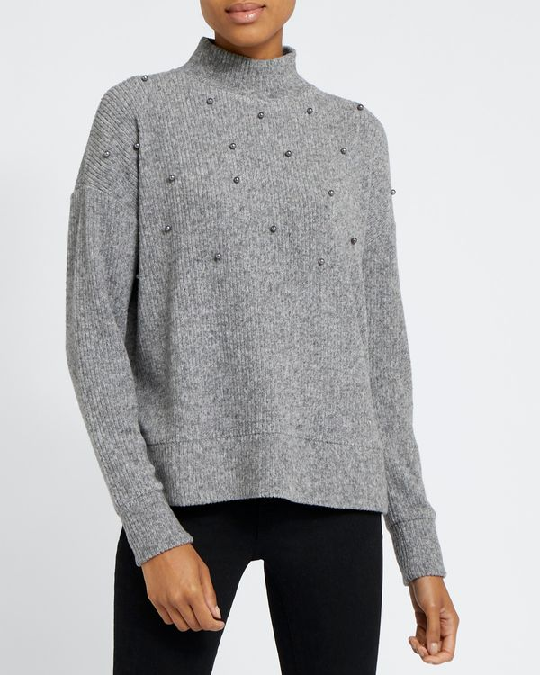 Embellished Soft Touch Sweatshirt