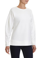 winter-white Longline Sweater