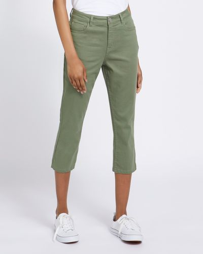 Skinny Crop Mid Rise Jeans thumbnail