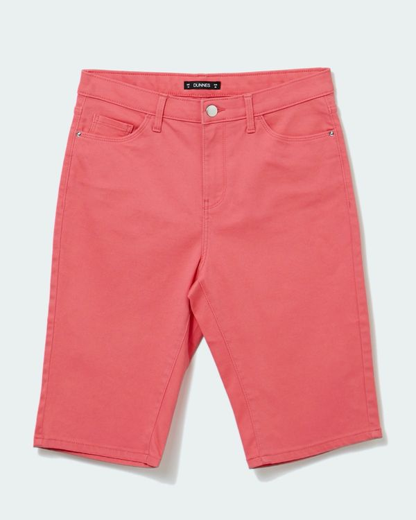 Twill Knee Shorts