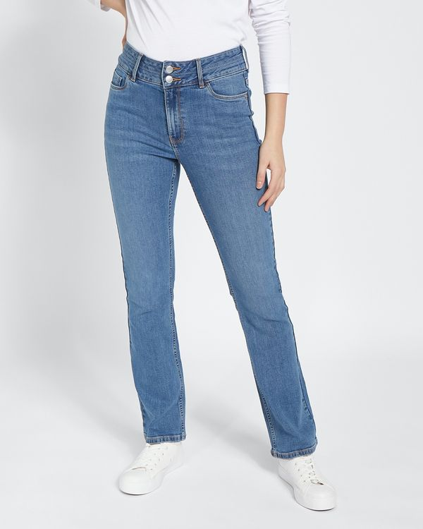 Mid Rise Essential Bootcut Fit Jeans