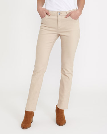 stone Kate Mid Rise Straight Fit Jeans