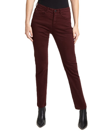 berryKate Mid Rise Straight Fit Jeans