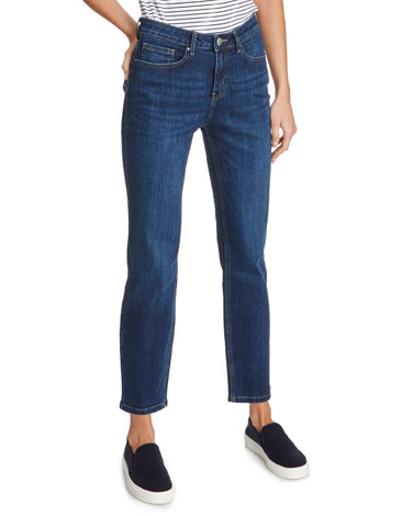 indigoKate Straight Fit Crop Jeans