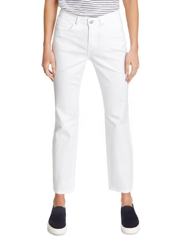 whiteKate Straight Fit Crop Jeans