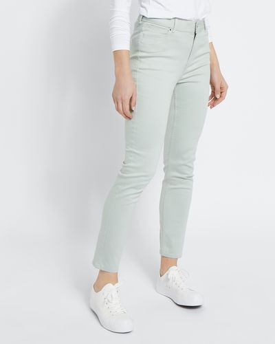 Straight Fit Mid Rise Jeans thumbnail
